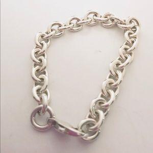 🔥Sterling Silver Link Charm Bracelet🔥